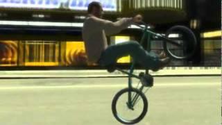 GTA IV bmx bike mod!!