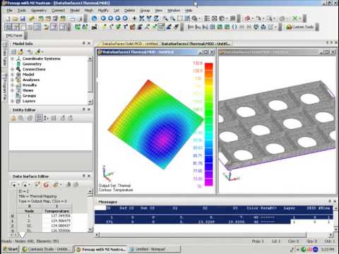 Femap Data Surfaces