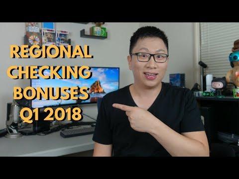"""Free"" Money: Regional Bank Bonuses Q1 2018"