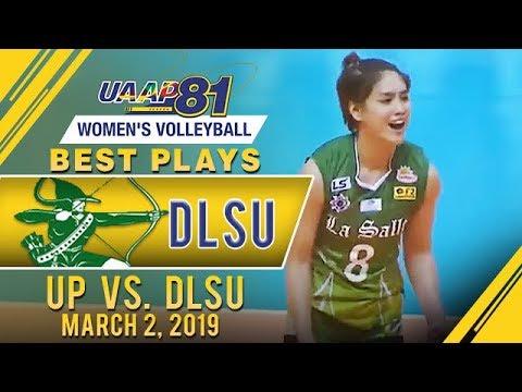 UAAP 81 WV: Jolina Dela Cruz's Best Plays   UP Vs. DLSU   March 2, 2019