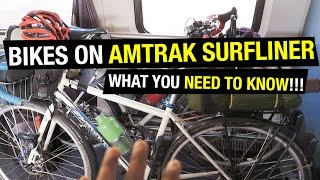 Bicycles on the Amtrak Surfliner: What you NEED TO KNOW!