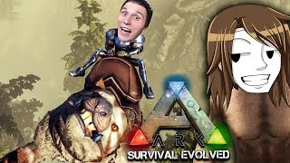 Wir ZÄHMEN eine KATZE die ÜBERALL klettern kann ☆ ARK: Survival Evolved #106