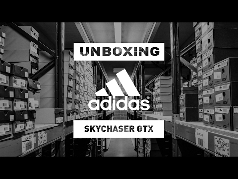 Unboxing the Adidas Terrex Skychaser GTX Trail Walking Shoe | SportsShoes.com