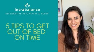 Sleep specialist shares 5 tips to help you get up in the morning