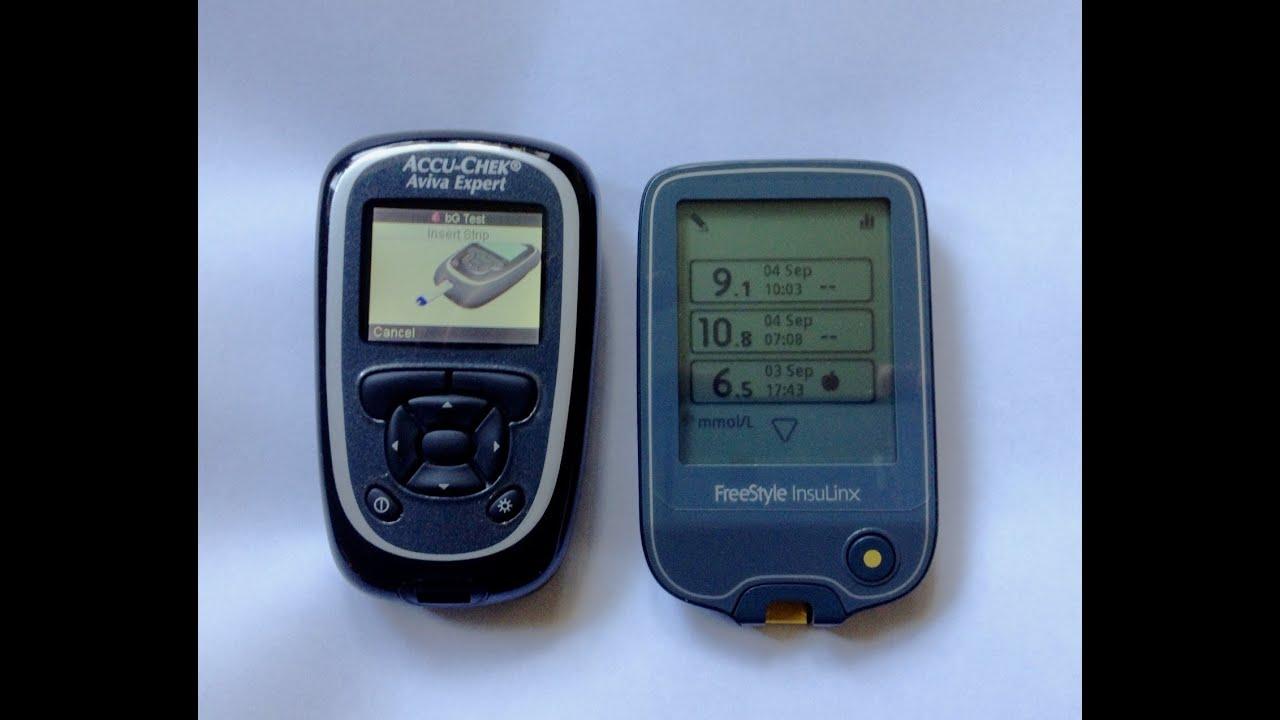 Free Blood Glucose Meter >> InsulinX V Aviva Expert - YouTube
