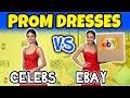Ebay Prom Dresses vs Celeb Red Carpet Dresses. (Prom 2018) Totally TV