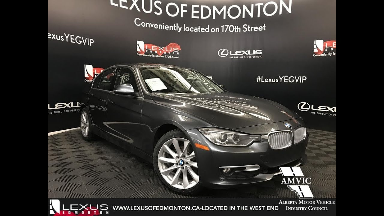 used silver 2014 bmw 3 series 320i xdrive walkaround review airdrie alberta youtube. Black Bedroom Furniture Sets. Home Design Ideas