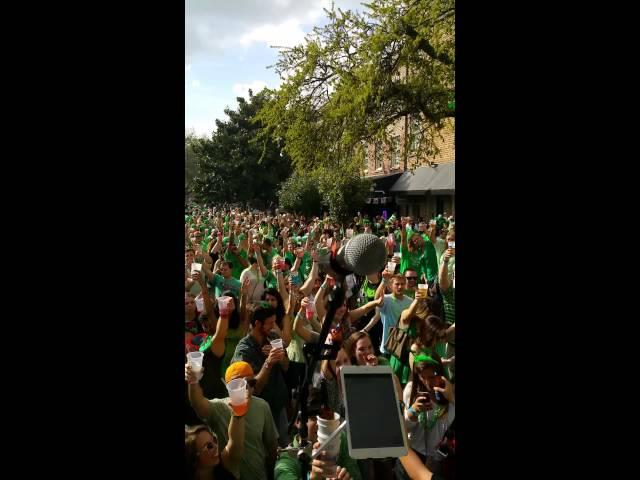 Whiskey Run St. Patrick's Day Savannah, GA 2015