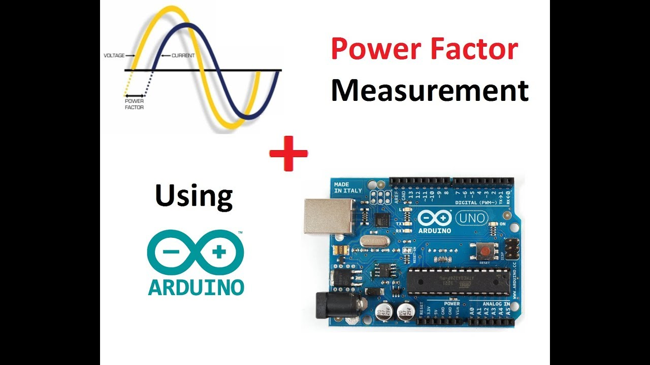 Power Factor measurment using Arduino (with code)
