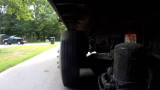 Kenworth Tri-Axle Dump Truck, Axle Cam