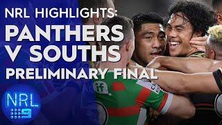 NRL Highlights: Panthers v Rabbitohs - Preliminary Final | NRL on Nine