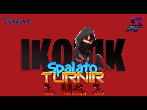 TURNIR - CUSTOM Solo 1 Vs. 1 / Nagrada IKONIK skin! - SPONZOR @vbucks.spacee #Fortnite #Balkan #Live