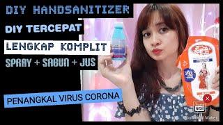 Diy hand sanitizer spray efektif & mudah, cara membuat handsanitizer sendiri dirumah tips sehatku