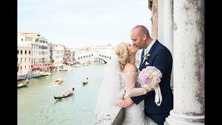 Свадьба в Венеции. Певица и ведущая в Италии Мария Шаро