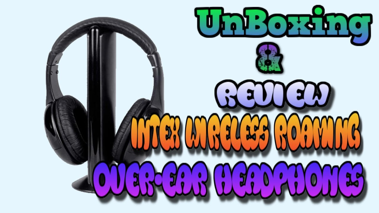 03f55cae287 INTEX Wireless Headphone IT HP904FM on amazon.in - YouTube