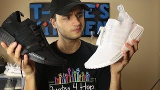 """Why did the """"Triple White NMDs"""" sit and the """"Triple Black NMD"""" sell out?"""