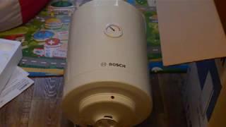 Розпакування бойлера BOSCH Tronic 2000 T ES 030-5