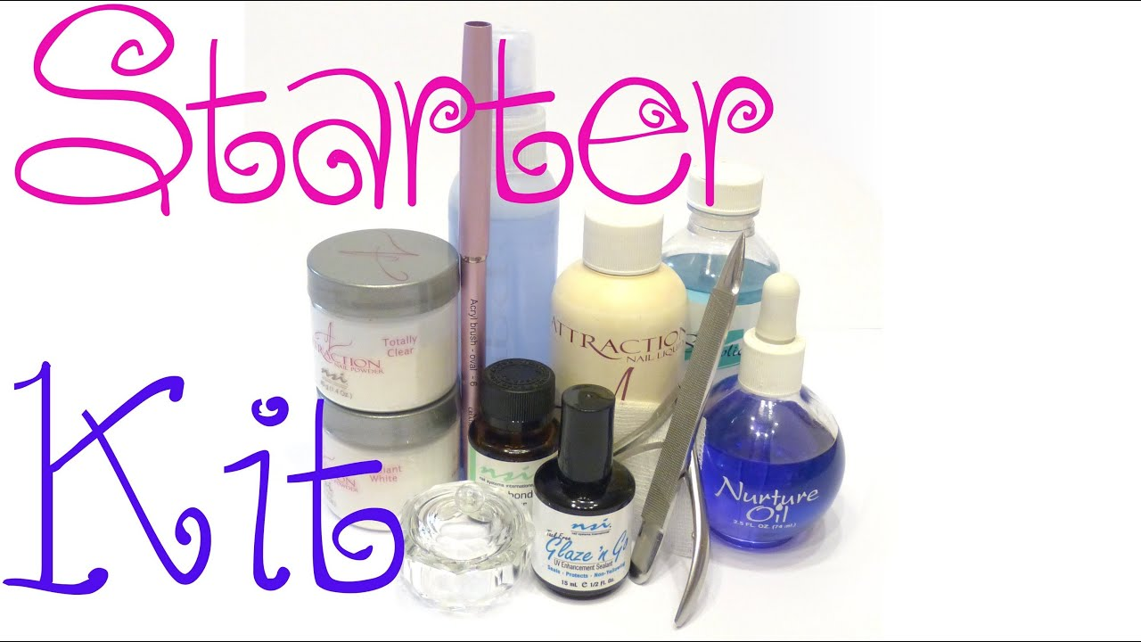Nails for Beginners - Starter Kit - YouTube