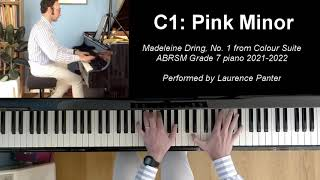 C:1 Pink Minor (ABRSM Grade 7 piano 2021-2022)