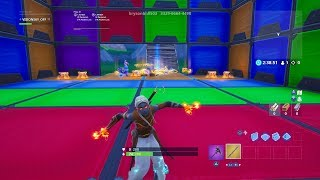 I FINIS THIS DEATHRUN OF GLISSE ON FORTNITE - CODE