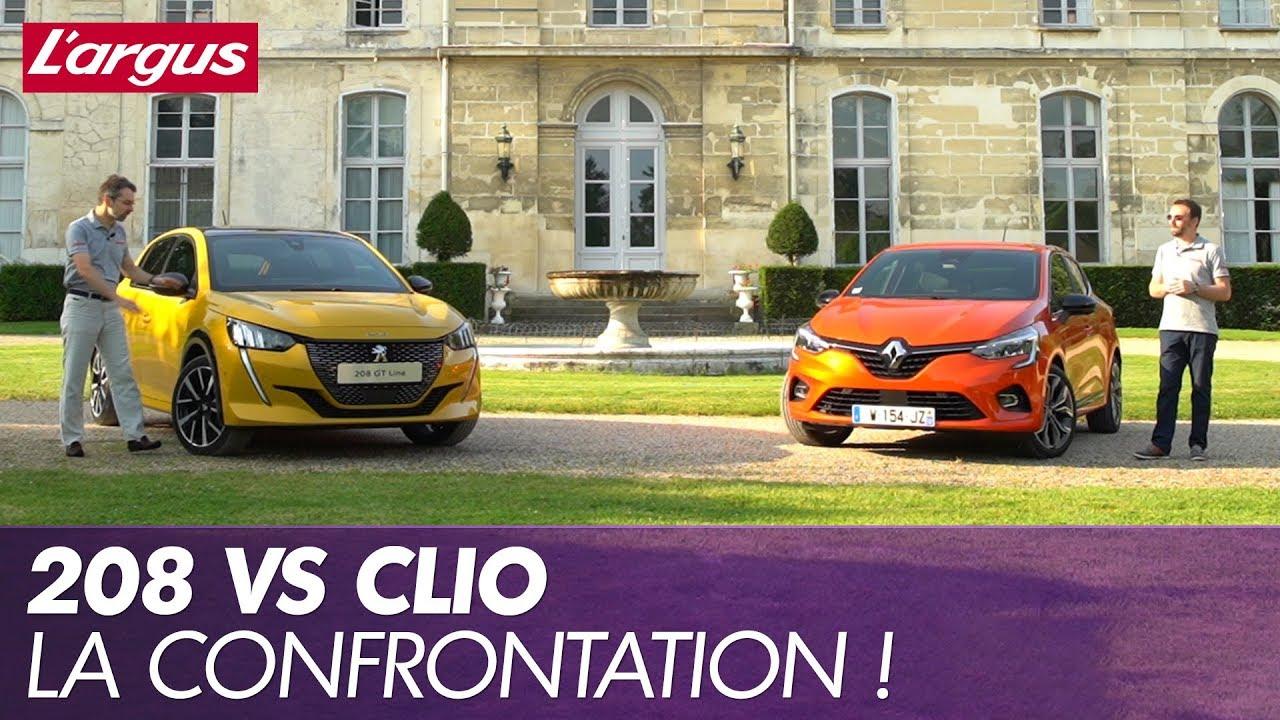 Download Peugeot 208 2 vs Renault Clio 5 premier duel pour les stars françaises