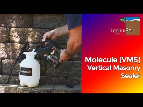 Molecule [VMS] Vertical Masonry Sealer   Stone veneer, bricks, blocks &  stucco