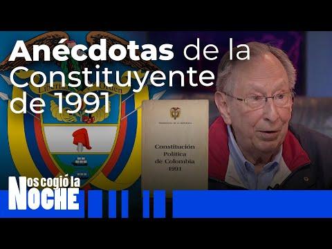Anécdotas de la Constituyente de 1991 contadas por Juan Gómez Martínez - Nos Cogió La Noche