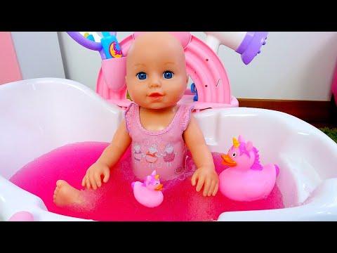 Кукла в ванной мультфильм