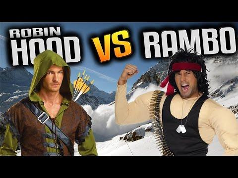 UEBS - Robin Hood vs Rambo & New Avalanche Map Update! - Ultimate Epic Battle Simulator Gameplay