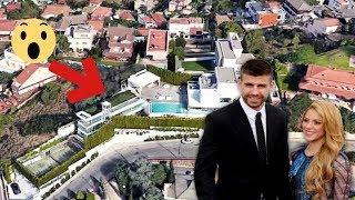 Shakira Muestra La Mansio�n Lujosa Donde Vive Con Pique� y...