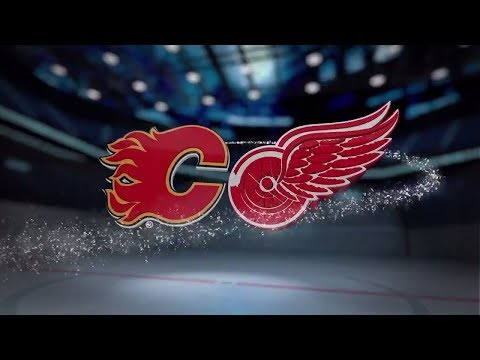 Calgary Flames vs Detroit Red Wings - November 15, 2017 | Game Highlights | NHL 2017/18. Обзор матча