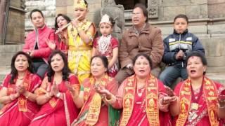 SHREE KRISHNA KRISHNA  BHANDAI YO PRAN SARAKKA JAYOS:NEPALI BHAJAN BY ANJALI SHRESTHA