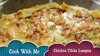 #chicken #tikka #lasagna recipe   lasagna with white sauce