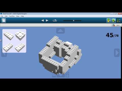Lego Skull Building