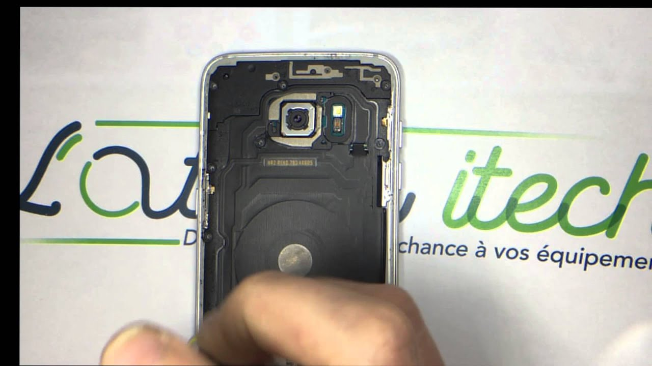 tuto changement d 39 cran vitre tactile amoled ch ssis samsung s7 edge youtube