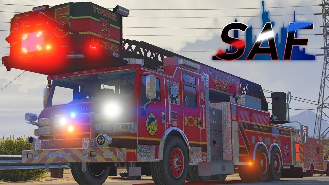 SA'F #109 - New Apparatus! | GTA V RP
