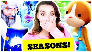 ☀️ THE SIMS 4 SEASONS GAME PLAY! Summer, Fall, Winter, Spring!