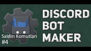 Basit Rol Ver Komutu | Discord Bot Maker Basit Saldırı Komutları #4