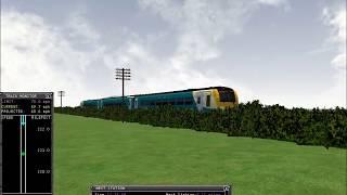 MSTS - BrisCard v6 Carmarthen - Cardiff Central run