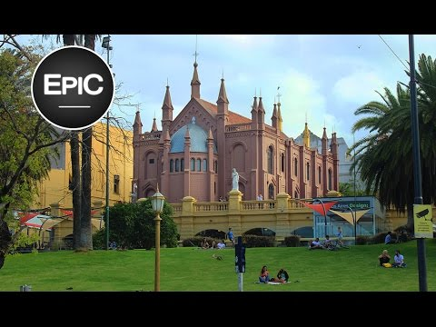 Centro Cultural Recoleta & Plaza Francia - Buenos Aires, Argentina (HD)
