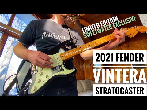 2021 Fender VINTERA STRATOCASTER &39;70&39;s Hardtail SWEETWATER EXCLUSIVE 🧈 DEMO & REVIEW