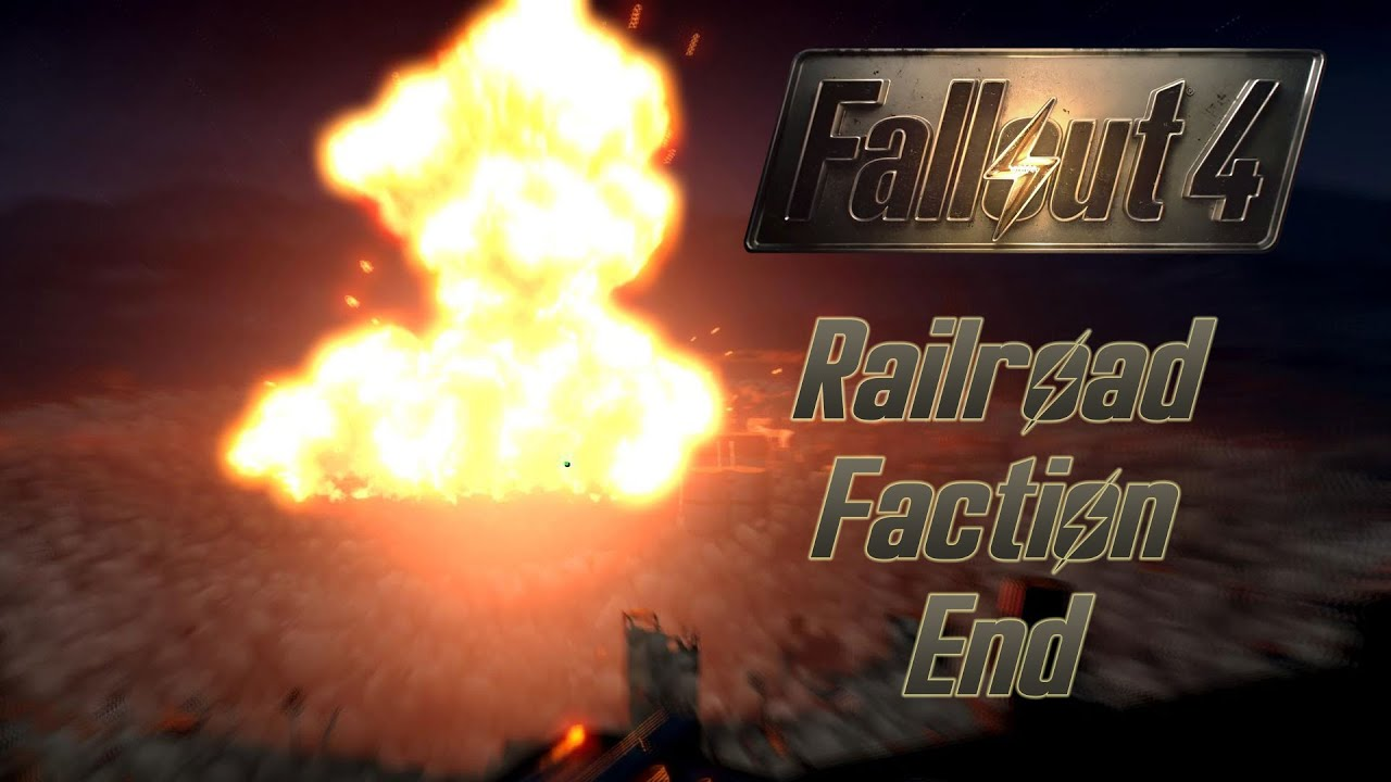 fallout 4 railroad faction end youtube. Black Bedroom Furniture Sets. Home Design Ideas