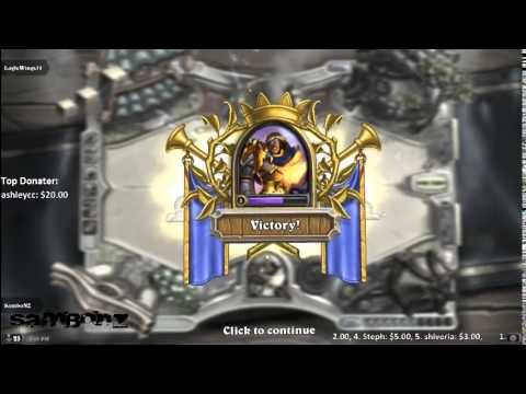 LiveStream - Hearthstone | Playing with chatroom - 1 / 2