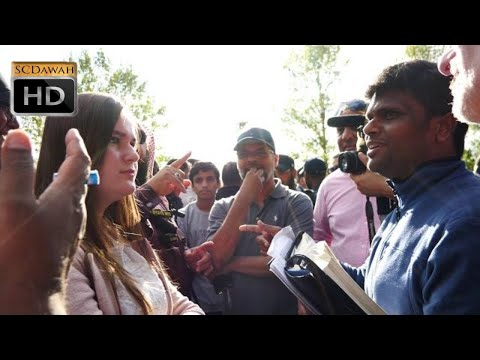 P1 - No Answers please! Hashim & Sheikh Muhammed Vs Indian Christian   Speakers Corner   Hyde Park