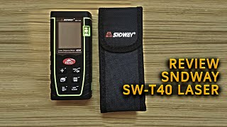 Review SNDWAY SW-T40 laser 40m distance meter
