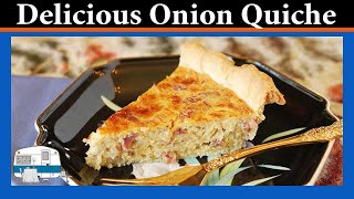 Onion Quiche - White Trash Cooking