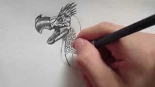 How to Draw the Boss Battle Death Dodo || Jurassic World the Game - Danny the Dinosaur Drawer