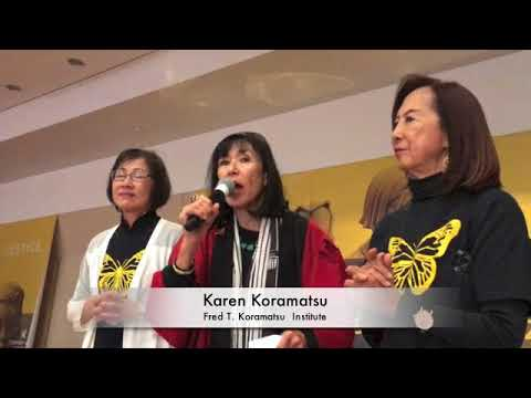 Japanese Americans & Japanese Speak In Support of 'Comfort W