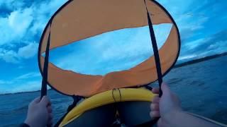видео Надувной каяк