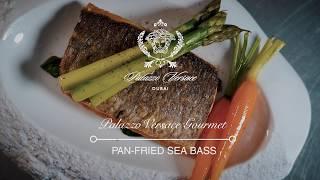 Pan-fried Sea Bass   Palazzo Versace Gourmet
